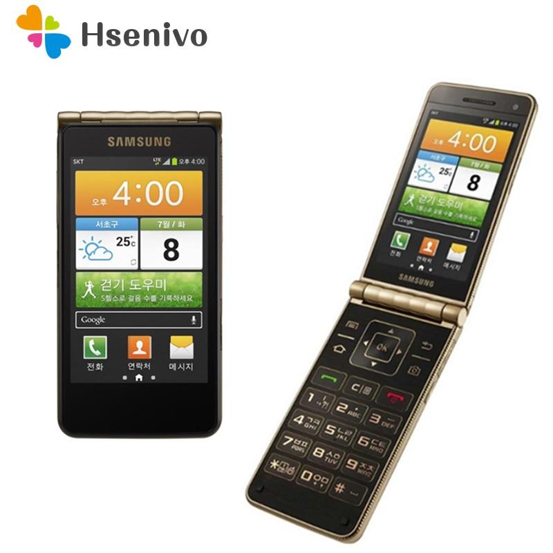 Original Samsung Galaxy I9235 Dual-core 3,7 pulgadas 1,5 GB RAM 16GB ROM 8MP desbloqueado cámara Flip teléfono móvil Android