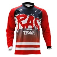 mtb dh mx bicycle cycling bike downhill jersey off road shirt male breathable cycling long sleeve cycling jersey
