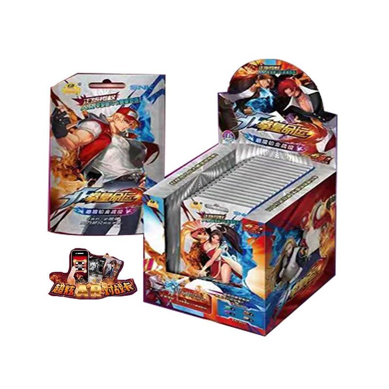Карточная бумага для игр «Король бойцов», детские игрушки, фантастика и научно-фантастика для девочек, коллекция для мальчиков, рождественс...