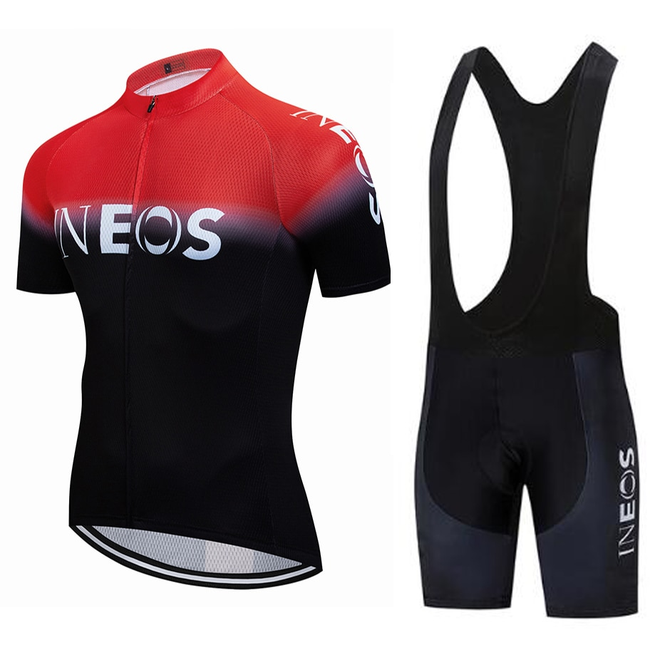 ¡Liquidación! ¡Nuevo! Camiseta y pantalón corto de Ciclismo para hombre, Ropa deportiva...