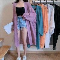 Шифоновое кимоно