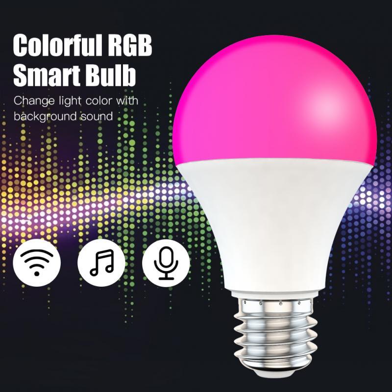 Tuya Smart Lamp 9W WIFI LED Light Bulb Smart Life RGB Bluetooth Smart Home House Bulb Compatible Alexa Google Home Assistant