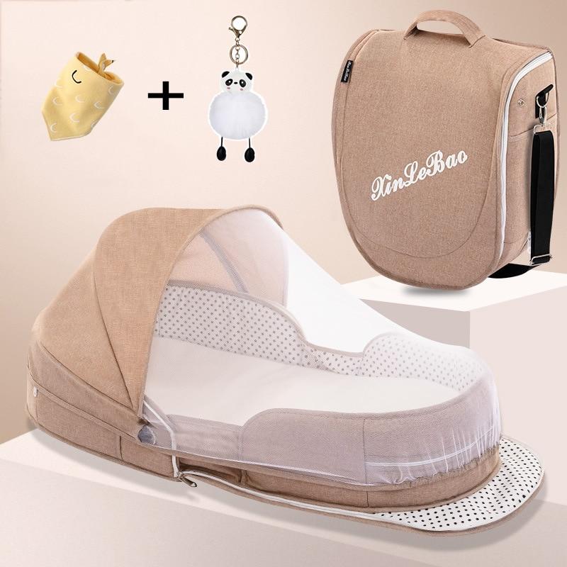 Портативные Детские кроватки с москитной сеткой, дорожная детская кроватка для новорожденных, Детские гнезда, кроватки для сна, кроватка дл...