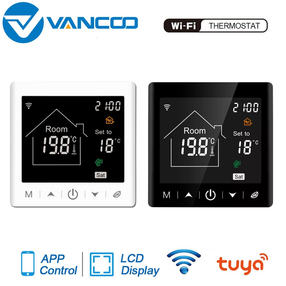 Tuya WIFI Smart Thermostat 220V Temperature Controller for Water/Electric /Gas Boiler Heating Room Thermoregulator With Alexa smart wifi tuya thermostat temperature controller gas boiler water heating electric heating thermoregulator floor controller
