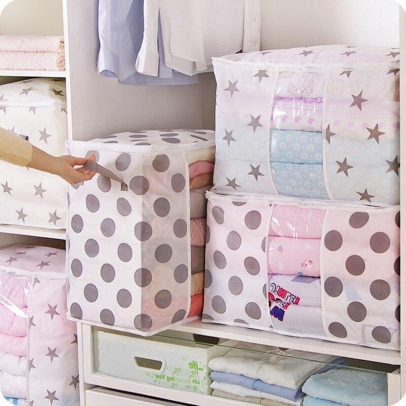 6 roupas colcha saco de armazenamento cobertor armário camisola organizador caixa classificando malotes roupas gabinete recipiente viagem para casa dropship