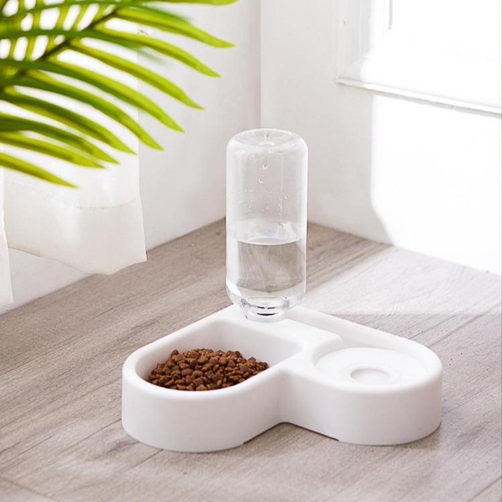 Tas manar ushqyes automatik qen ushqimi për mace me tas me ujë - Produkte për kafshet shtëpiake - Foto 6