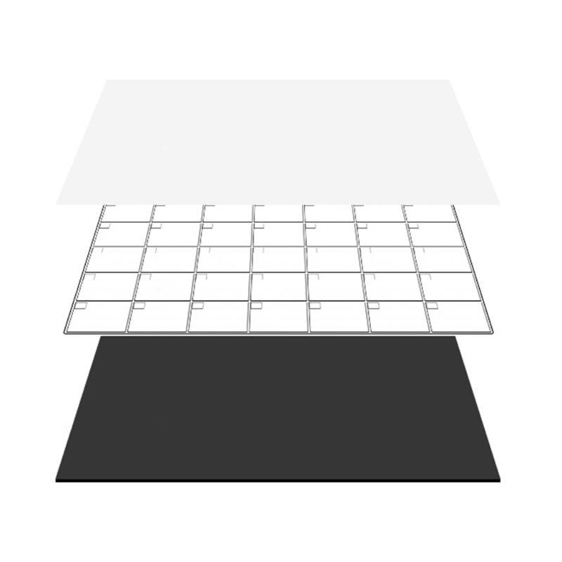 2021 New A3 Magnetic Monthly Planner Whiteboard Calendar Fridge Magnet Erasable Message
