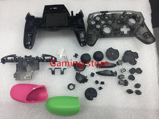 Envío Gratis, Mando de juegos NS switch PRO, reemplazo de funda carcasa de plástico DIY con botones de soporte, hecho en china