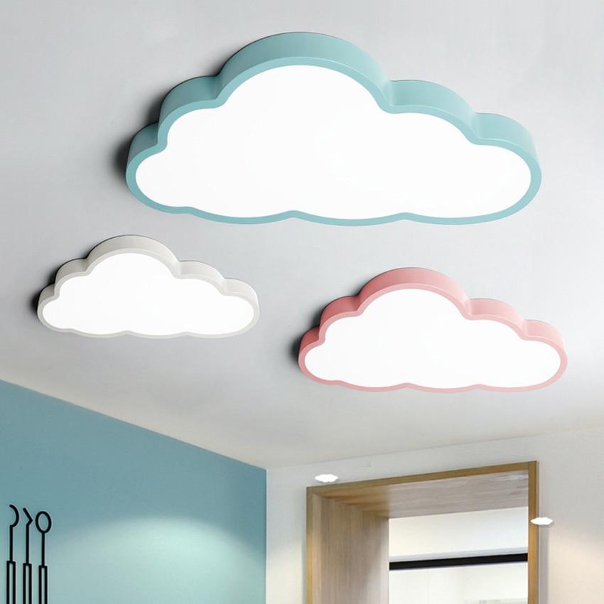 LED مصباح السقف غرفة الأطفال الكرتون غرفة مصباح للأولاد والفتيات led رقيقة جدا مصباح غرفة النوم 36 واط 48 واط متغير ضوء LED مصباح