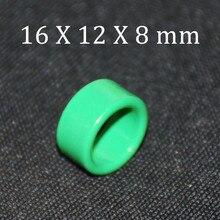 10pcs Ferrite Core EMI Filter 16X12X8 Ferrite Cores Ring Anti-Parasitic Toroide Toroidal Bead Coil Ferrites Ferrous Suppression