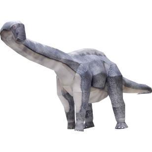 Rompecabezas dragón 3D modelo de papel DIY dibujos animados de tres dimensiones Animal papel molde Manual de jardín de infancia niños juguete en miniatura educativo