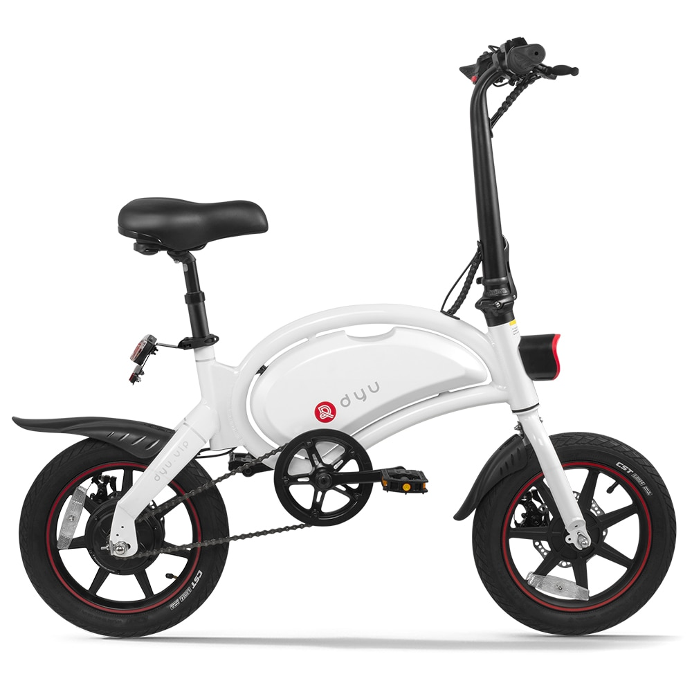 Dyu 14 Polegada folding power assist bicicleta elétrica ciclomotor 65-70km max range e bicicleta motocicleta elétrica