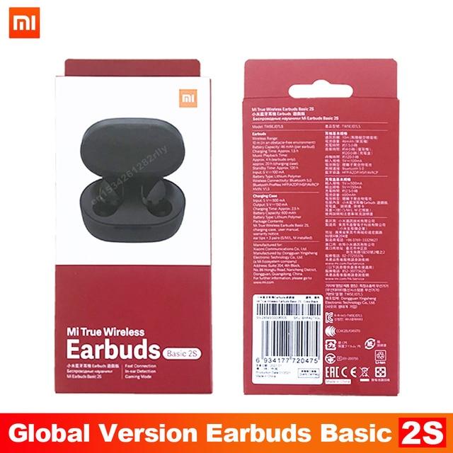 Original Xiaomi Redmi Airdots 2s Earphone Mi True Wireless Earbuds Basic 2s Bluetooth 5.0 Air2SE TWS Microphone Gaming Earphones 10
