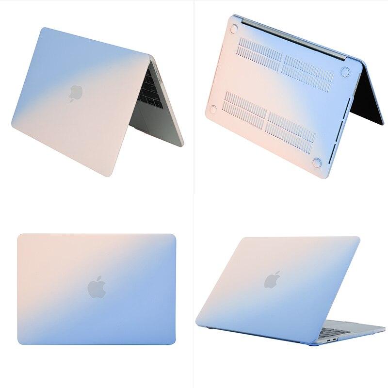 Funda de portátil para Macbook Air 13 A2337 A2179 2020 A2338 M1 Chip Pro 13 12 11 15 A2289 Nueva barra táctil para Mac libro Pro
