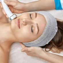100 Pieces Of Disposable Beauty Headscarves Non-woven Bath Spa Travel Headscarves Portable Tools Hea