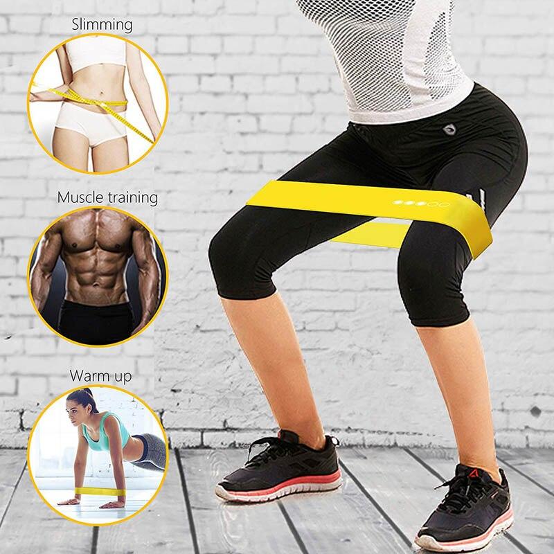Набор резинок сопротивления, латексные резиновые петли для тренировок в спортзале, плотные резинки для фитнеса, йоги, кроссфита, тренажеры для тренировок Эспандеры      АлиЭкспресс