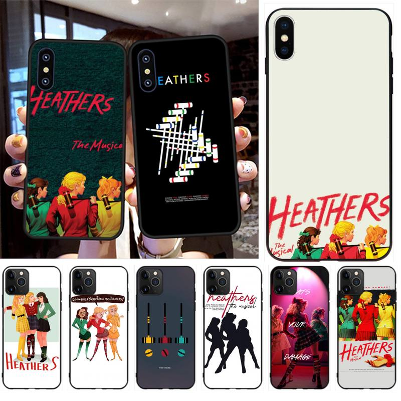 CUTEWANAN brezos el Musical de Broadway funda para teléfono para iPhone 11 pro XS MAX 8 7 6 6S Plus X 5S SE 2020 XR caso