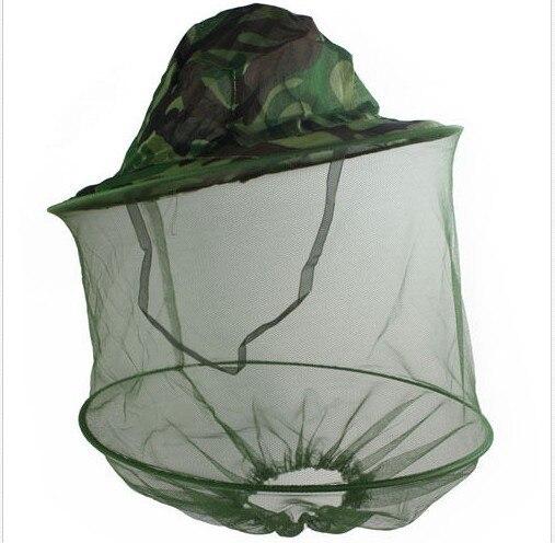 Gorra de pesca para hombre, visera ancha, visera para caza, abeja, para mantener la red, Camuflaje, sombrero, insectos, protección de mosquitos, funda para el cuello
