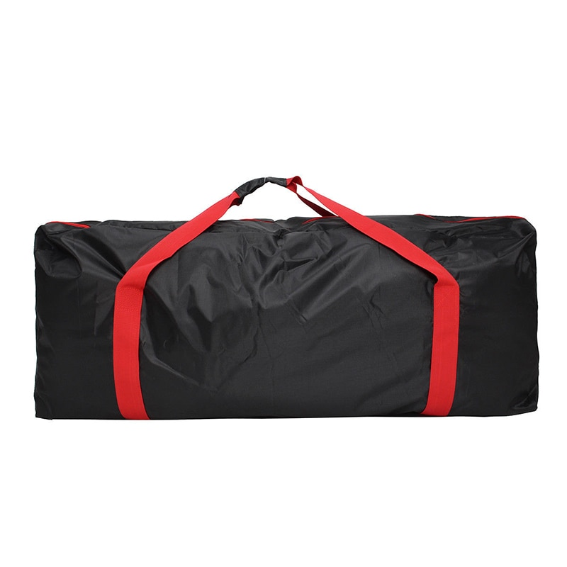 Scooter Eléctrico bolsa de almacenamiento mochila negro Oxford tela cremallera caja de almacenamiento para Xiaomi Mijia M365 Scooter Eléctrico