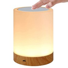 LED Night Light Lamp Rechargeable Color Change 3D Light Touch Moon Lamp Children's Lights Night Lamp
