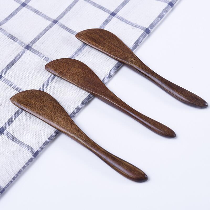 خشبية السكاكين سكين خشبية زبدة سكين الجبن المربى الموزعة كعكة السكاكين خبز LX9350