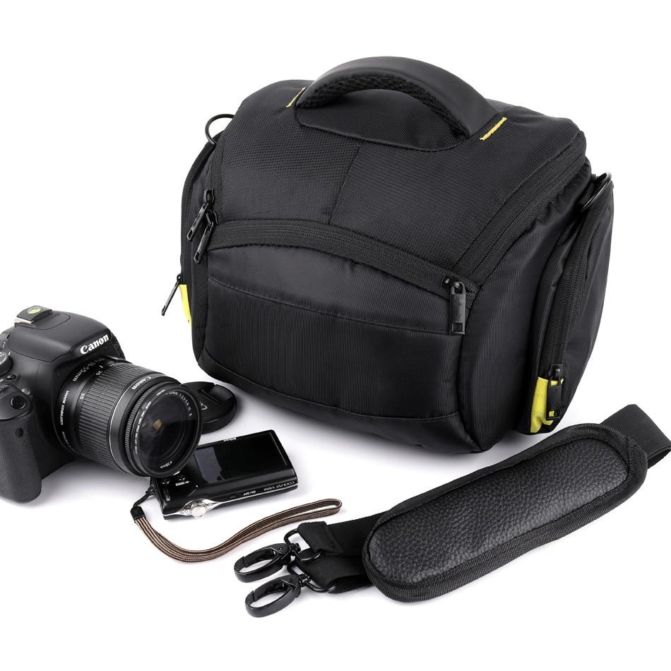 Mochila impermeable para cámara fotográfica, bolsa de hombro para Sony, Canon, Nikon,...