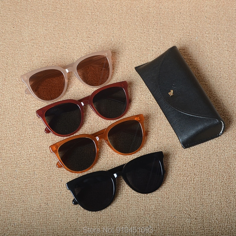 نظارة شمسية مستديرة عتيقة للنساء ، ماركة فاخرة عصرية ، نظارات شمسية من الأسيتات ، نظارات ريترو ، Oculos De Sol UV400 ، 2020