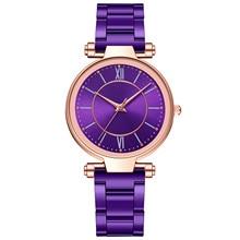Luxury Brand Woman Watch Casual Ladies Quartz Stainless Steel Band Strap Watch Analog Wrist Watch Fo