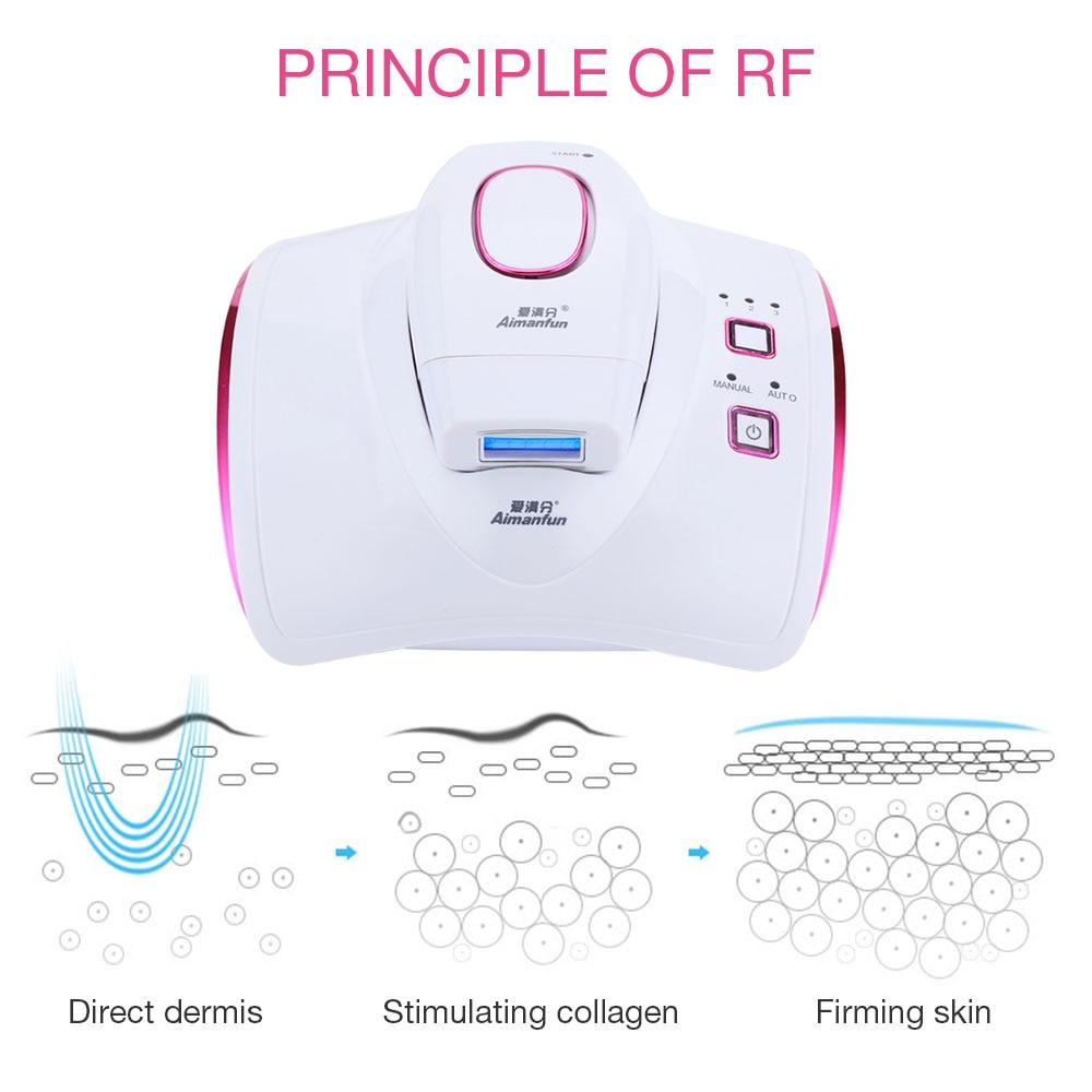 3 in 1 IPL RF Permanent Hair Removal Laser Epilator Bikini Armpit Leg Arm Hair Remover Depilador Skin Rejuvenation Beauty Device enlarge