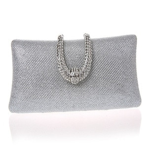 women diamond Evening Bags gold Clutch Hard Box Clutches Bags Day Clutch party wedding bridal women bag with crystal buckle WY49