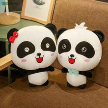35cm BabyBus Cute Couple panda Soft stuffed plush animals toys cartoon kids dolls Children Birthday