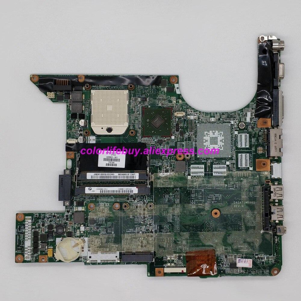 Genuine 449903-001 DA0AT1MB8H0 Laptop Motherboard Mainboard for HP Pavilion DV6 DV6000 DV6500 DV6600 Series Notebook PC