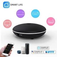 Telecommande universelle WiFi  IR  pour climatiseur  TV  maison connectee  Compatible avec Alexa Google Home Smart Life Tuya