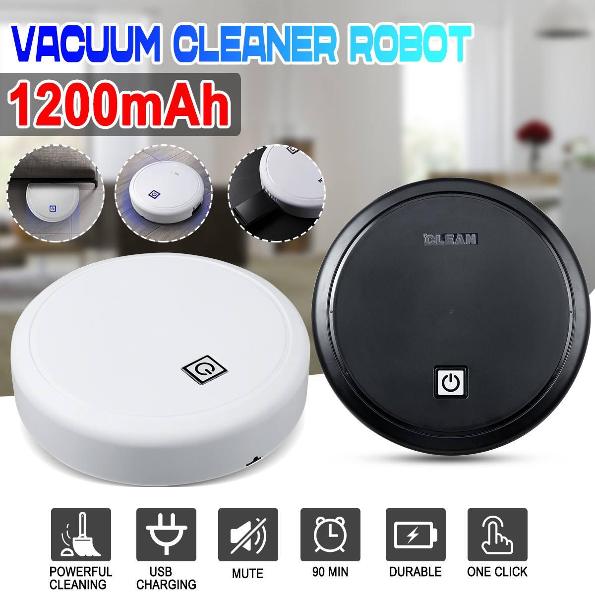 Robot aspirador inteligente recargable para Robot doméstico, máquina de arrastre de barrido y succión, Mini aspiradora de lavado, barrido en seco