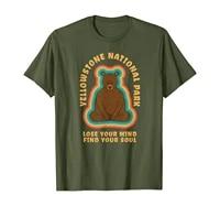 yellowstone bear meditation lover beautiful cute funny gift t shirt