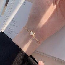 925 Sterling Silver Horn Bracelet for Women Mother Pearl Shellfish 2021new Trendy Zodiac Gift for th