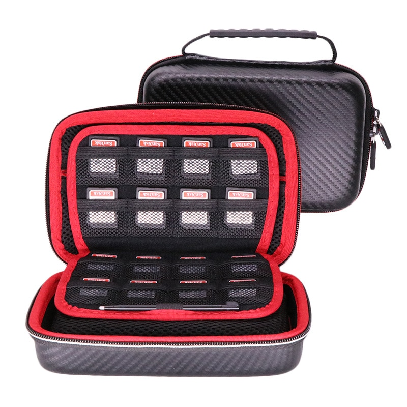 EVA Case Protective Travel Carrying Case Cover with Carry Strap for hard drive,SSD,Nintendo 3DS,New 3DS XL/New 3DS.LL