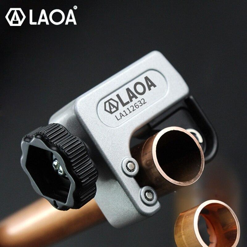 LAOA أنبوب معدني قطع مواسير الصلب غير القابل للصدأ الصلب أداة قطع الأنابيب الصغيرة قطع النحاس/الألومنيوم/الحديد قاطع المواسير سكين