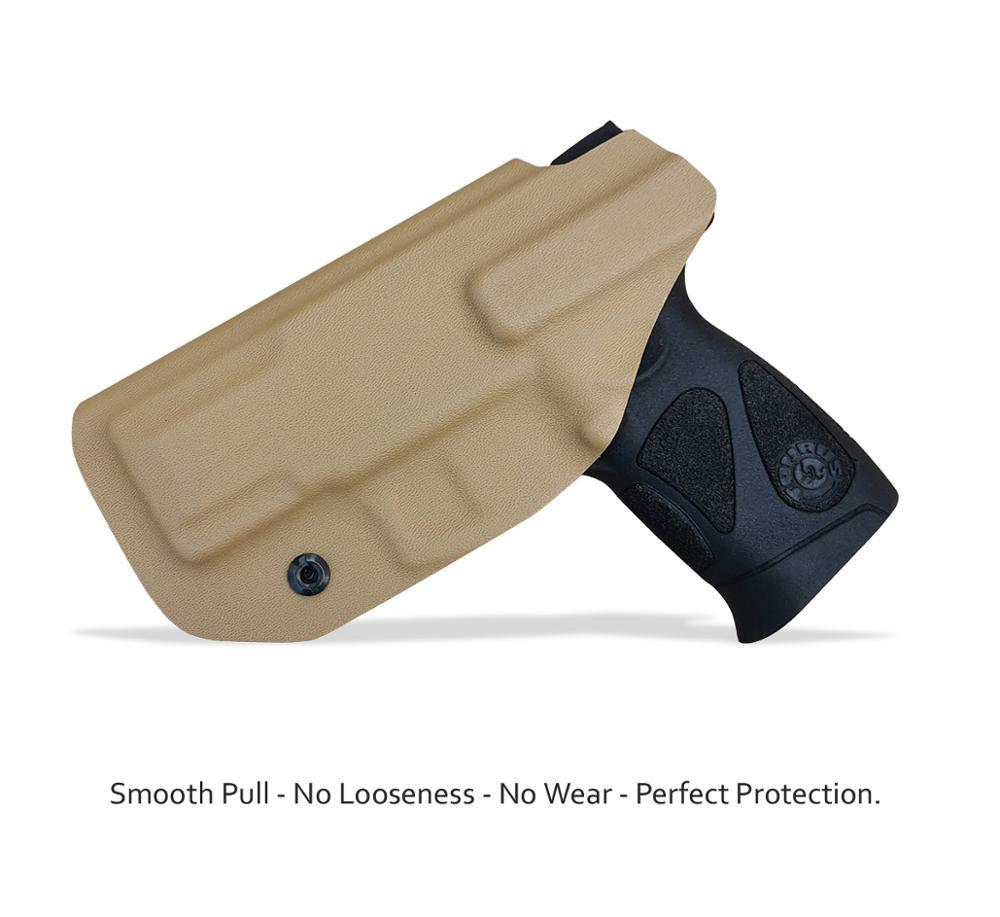 IWB Kydex pistol toc personalizat: Taurus G2C 9mm și Millennium - Vânătoare - Fotografie 4