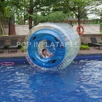 free shipping pvc water roller ball colorful inflatable water walking ballgarden rolling ball inflatable zorbs water rollers