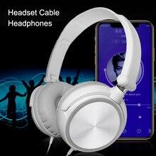 Auriculares de ordenador con cable con micrófono juego de graves pesados Karaoke auriculares de voz NK-Shopping