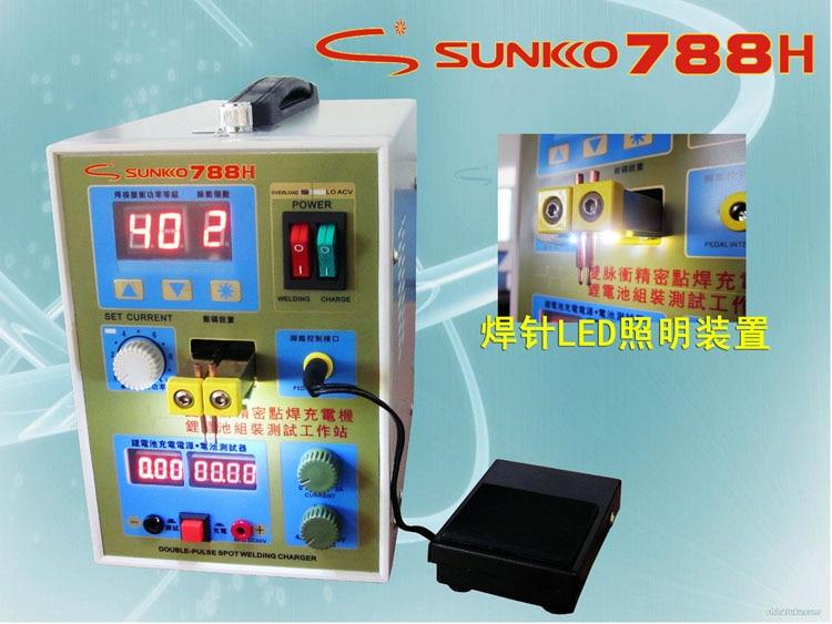 788H Battery Spot Welder Welding Machine Double Pulse Precision Spot Welder Lithium Battery Test Battery Charging