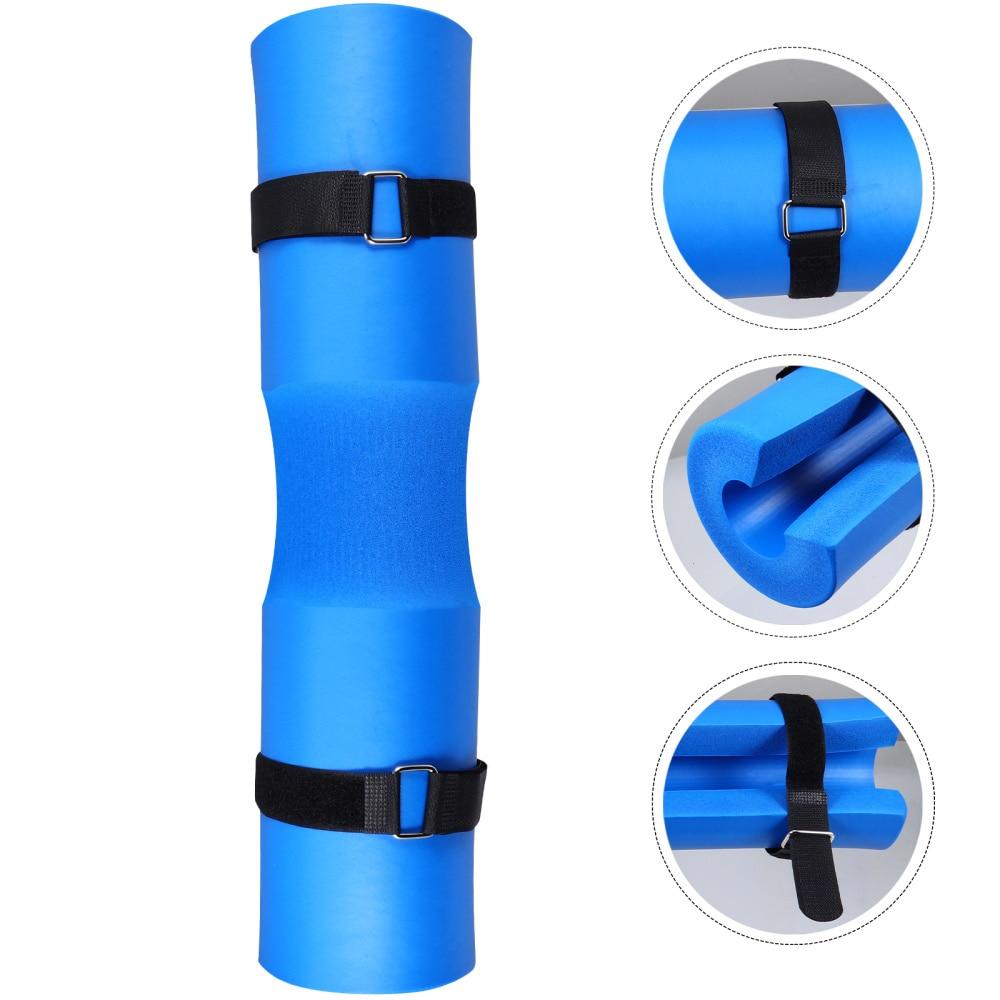 Barbell Squat Neck Rack Kissen Schulter Pad Gewichtheben Squat Pad (Blau)
