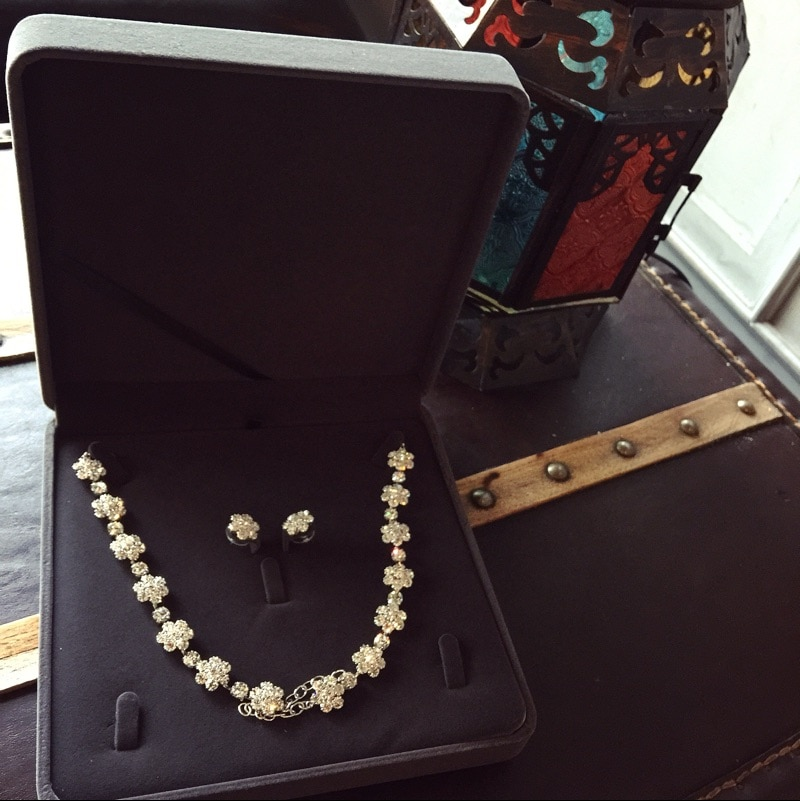 10PCS velvet Jewelry Set Box Necklace Earring Ring Gift Box Velvet Wedding Packaging Jewelry Display Storage case