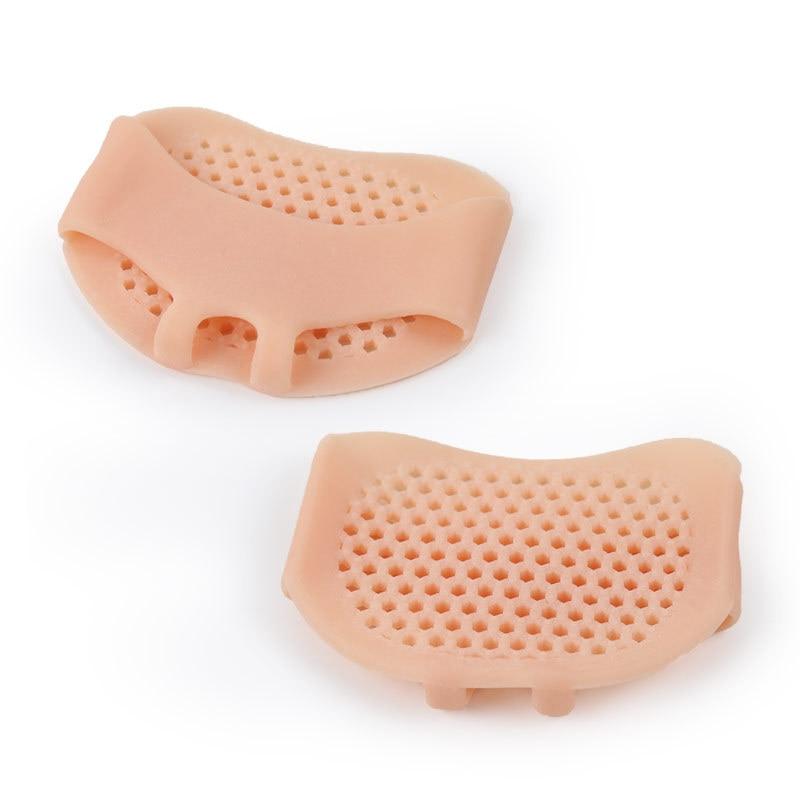 1 par palmilhas antepé almofadas macio respirável elástico lavável sapatos de salto alto almofada alívio da dor plantar palmilhas ortopédicas cuidados