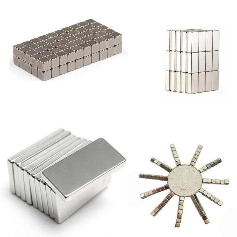 10 шт. неодимовый магнит, маленький блок, сильный магнит, супер мощный постоянный магнит, постоянный магнит