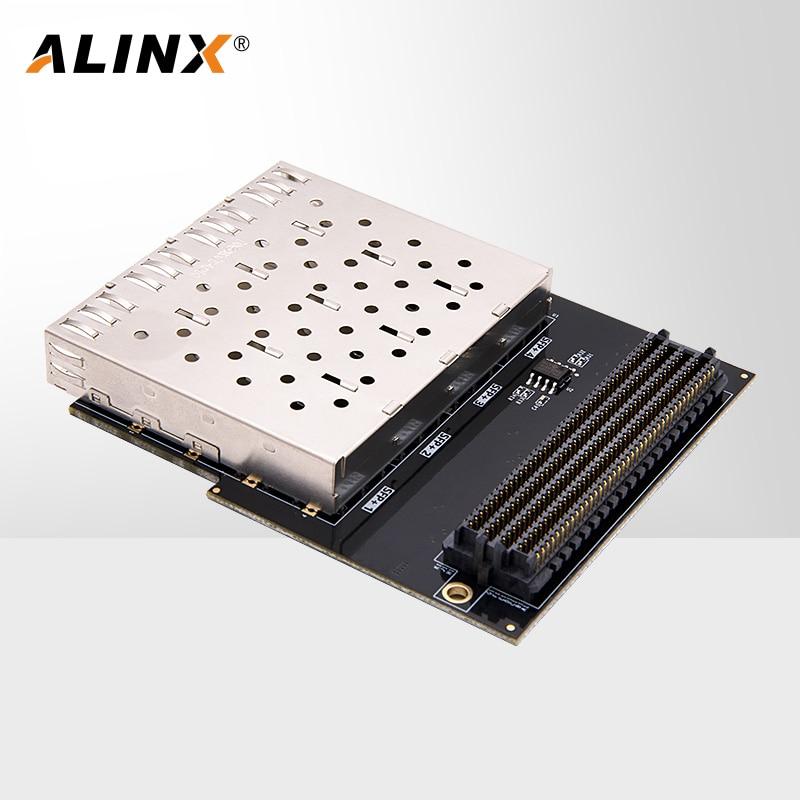 ALINX FH1223: HPC Interface to SFP Optical Fiber Interface Adapter Board  FMC Daughter Board for FPGA  Kit enlarge
