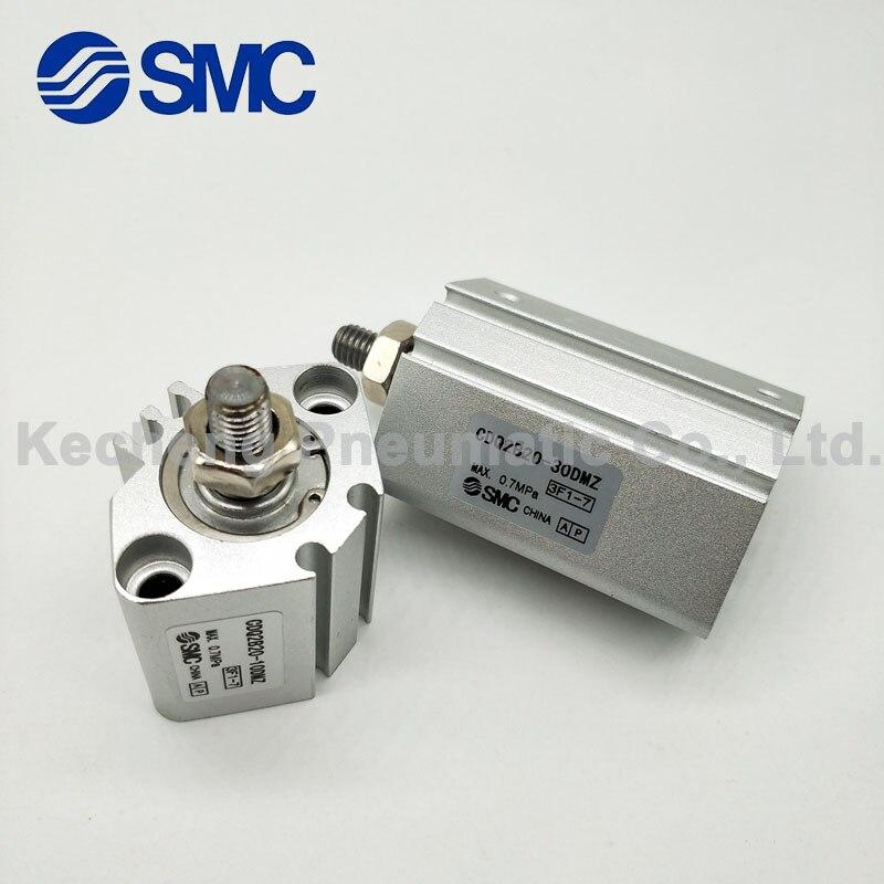 Neumático cilindro SMC CDQ2B25-55 CDQ2B25-60 CDQ2B25-65 CDQ2B25-70 CDQ2B25-75 DZ DM DCM cilindro compacto CQ2B CDQ2B serie