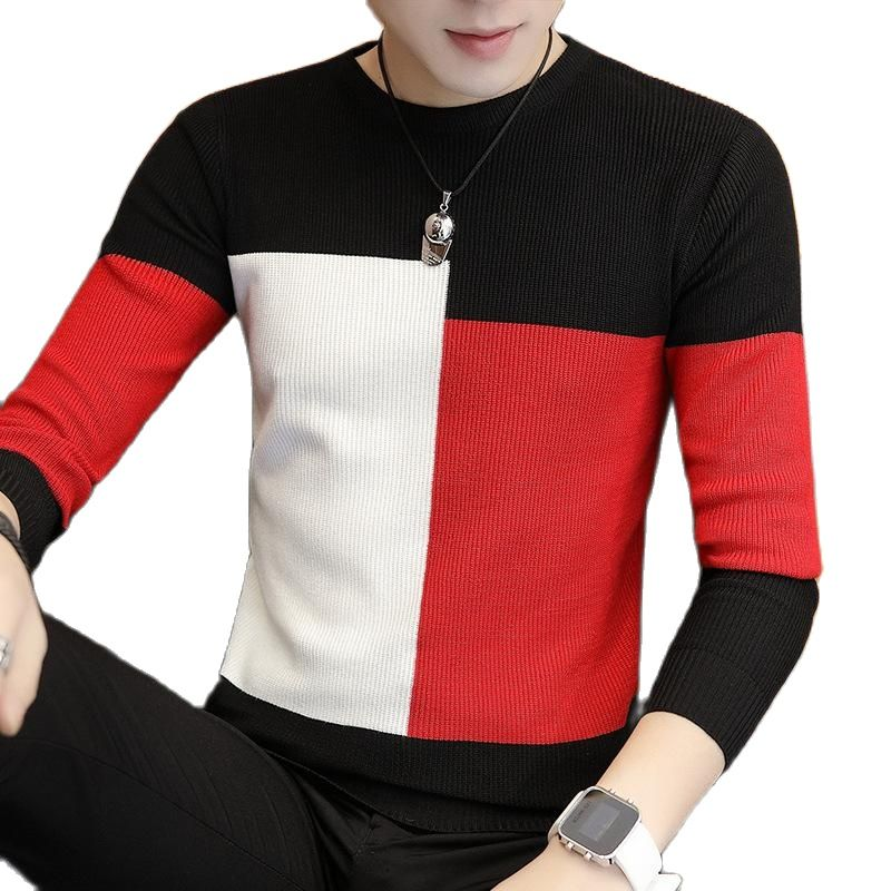 Новинка 2019, теплые мужские свитера, мужские шерстяные свитера, трикотажные свитера, m-3xl Laine Hommes