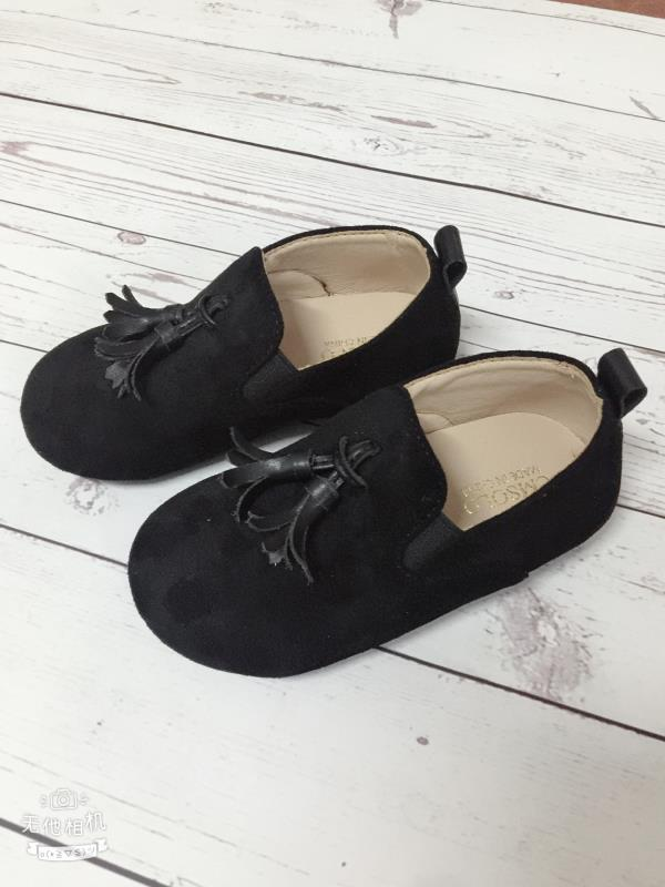 CMSOLO Toddler Girls Shoes Autumn Boys Shoe Slip-on New  Fashion Children  Loafers Wedding British Style Flat Tassel Kids Shoes